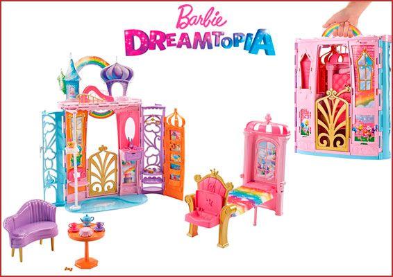 Oferta Palacio para muñecas Barbie Dreamtopia barato