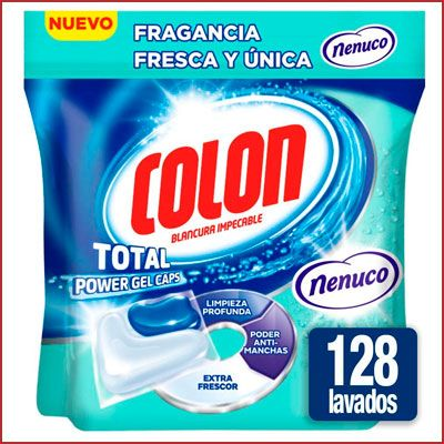 Oferta Colon Total Power Gel Caps con fragancia Nenuco