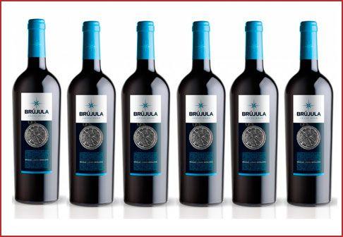 Oferta pack 6 botellas Vino tinto Brújula Reserva 2010