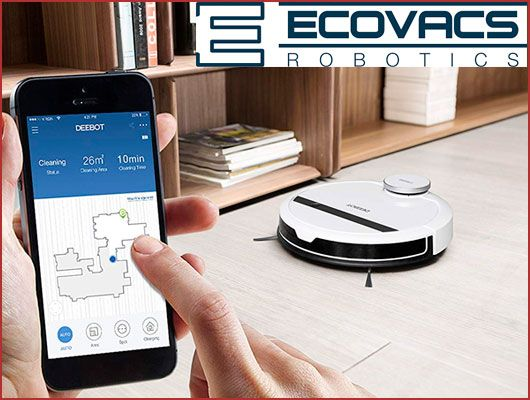 Oferta robot aspirador Ecovacs DEEBOT 900