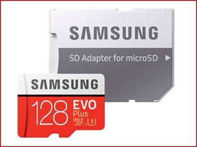 Oferta tarjeta de memoria Samsung EVO Plus 128gb barata