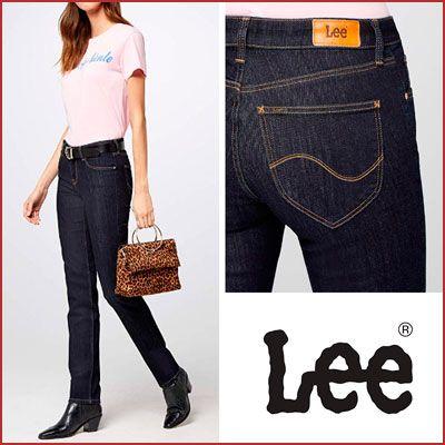 Oferta vaqueros Lee Marion Straight de mujer baratos