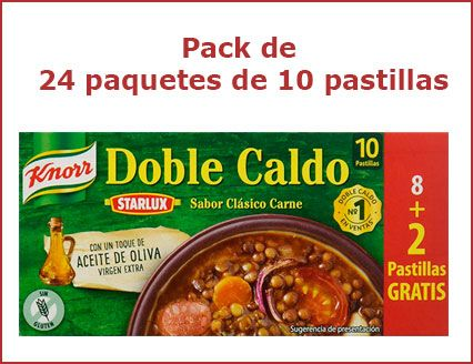 Oferta Knorr Doble Caldo 24 pastillas barato