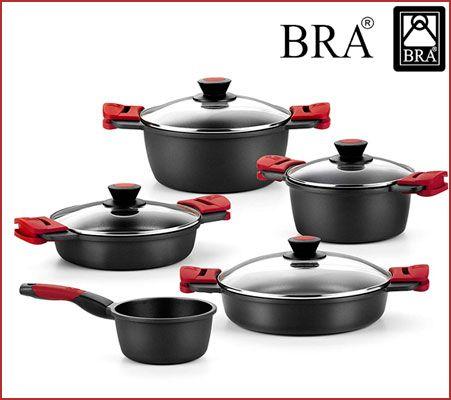Oferta batería de cocina BRA Premiere de 5 piezas