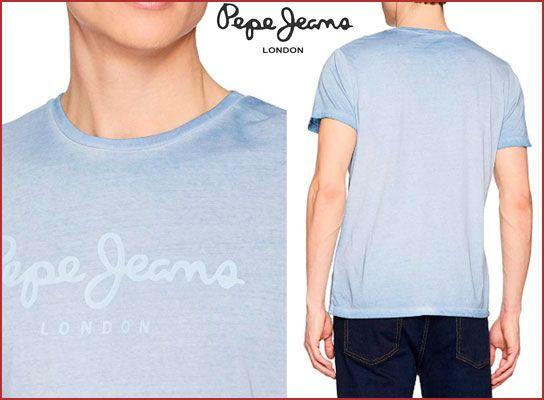 Oferta camiseta Pepe Jeans West Sir barata, chollos ropa de marca barata amazon
