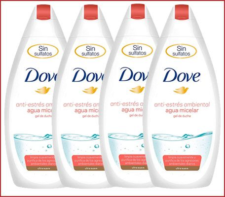 Oferta pack de 4 gel Dove Anti-Estrés Ambiental