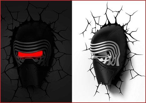 Oferta lámpara 3D Light FX Star Wars Kylo Ren