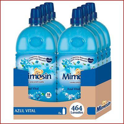 Oferta pack de 8 suavizantes Mimosín Azul Vital Concentrado