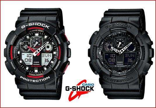 Oferta reloj Casio G-SHOCK GA-100 barato