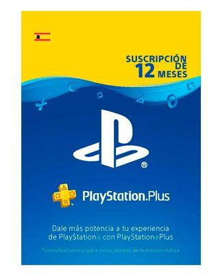 Oferta PlayStation Plus Suscripción 12 Meses