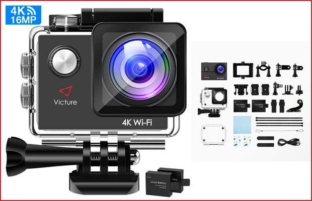 Oferta cámara deportiva Victure 4K Wifi