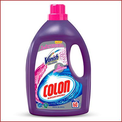 Oferta detergente Colon Vanish Ultra White 60 lavados