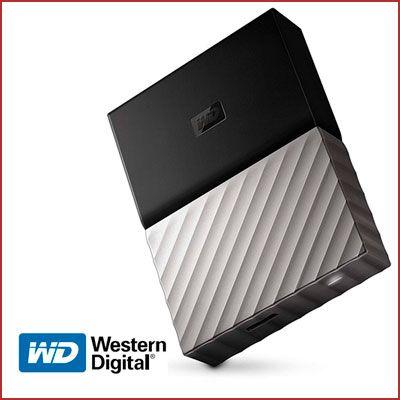 Oferta disco duro externo WD My Passport 3TB barato