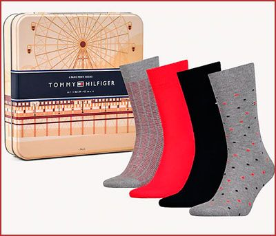 Oferta pack de 4 calcetines altos Tommy Hilfiger, ofertas moda