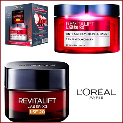 Oferta set Duo L 'Oréal Paris revitalift Laser X3