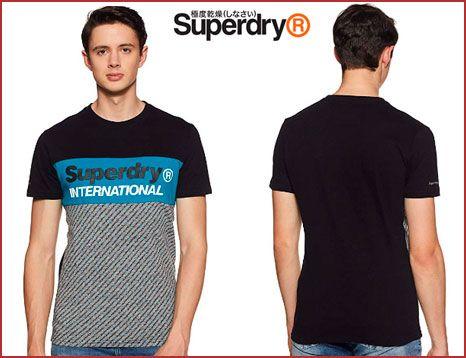 Oferta camiseta Superdry Trophy Micro barata, chollos ropa de marca barata amazon