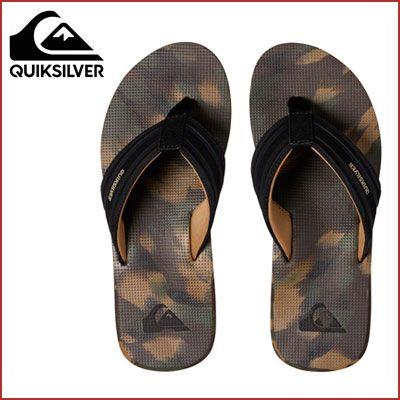 Oferta chanclas Quiksilver Island Oasis baratas amazon, chollos calzado de marca barato amazon