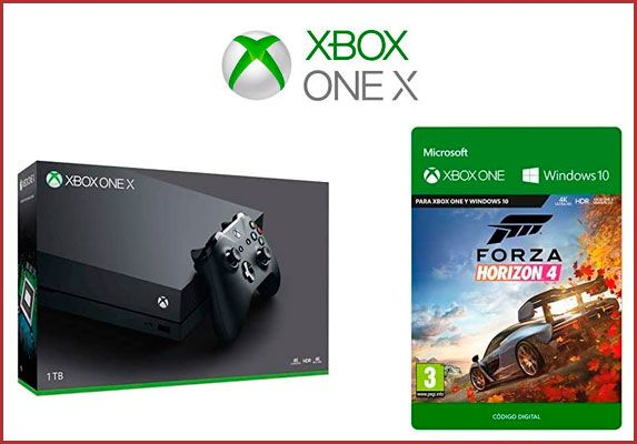 Oferta consola Xbox One X Refurbished con Forza Horizon 4