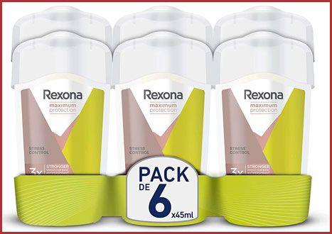 Oferta pack de 6 desodorantes Rexona Maximum Protection baratos