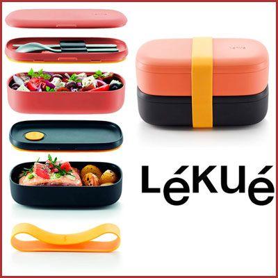 Oferta recipiente LunchBox To Go Lekue barato amazon
