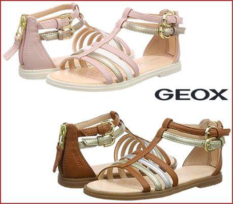 Oferta sandalias Geox J Sandal Karly Girl D, calzado de marca barato amazon
