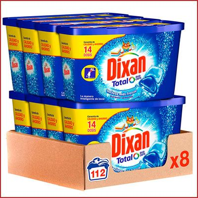 Oferta detergente Dixan Duo Caps barato