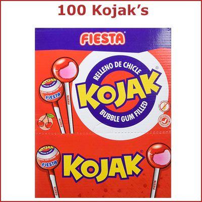 Oferta pack de 100 caramelos Kojak