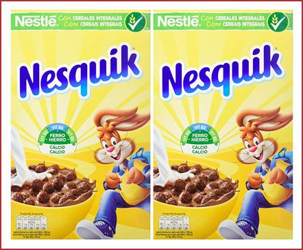 Oferta pack de 2 Cereales Nesquik con chocolate baratos