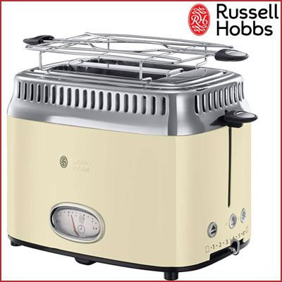 Oferta tostadora Russell Hobbs Retro Vintage barata