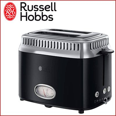 Oferta tostadora Russell Hobbs Retro barata