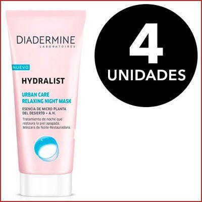 Oferta 4 mascarilla Diadermine Hydralist Night Mask barata