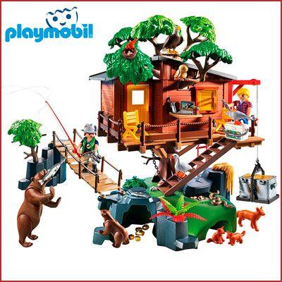 Oferta Playmobil Casa del Árbol barata