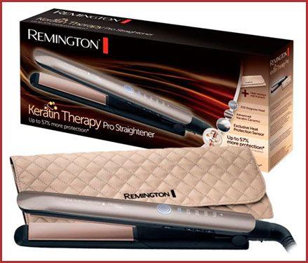 Oferta plancha de pelo Remington Keratin Protect S8590 barata