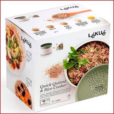 Oferta Lékué recipiente para cocer arroz o quinoa barato