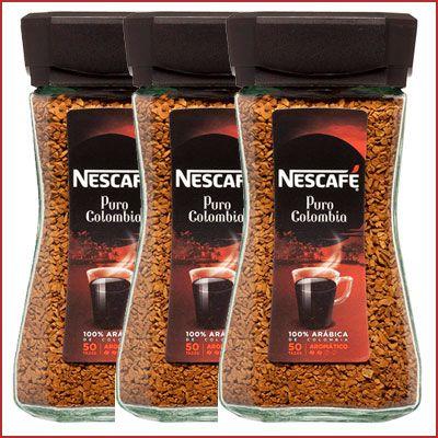 Oferta pack de 3 Nescafé Puro Colombia