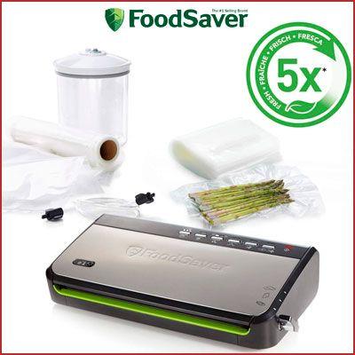 Oferta envasadora al vacío Foodsaver FFS005X-01