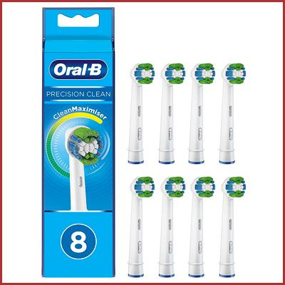 Oferta pack 8 recambios Oral B Precision Clean CleanMaximiser baratos amazon
