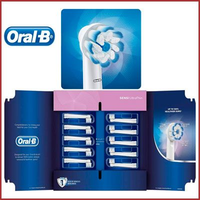 Oferta pack 10 recambios Oral-B Sensi Ultrathin baratos
