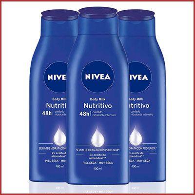 Oferta pack de 3 Nivea Body Milk Nutritivo