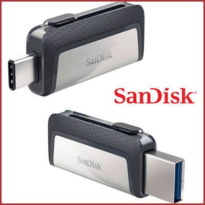 Oferta Pendrive Sandisk Ultra Dual Type C