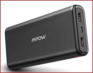 Oferta batería externa Mpow 20000mAh barata