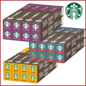 Oferta 80 cápsulas café Starbucks para Nespresso