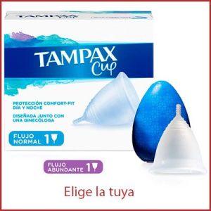Oferta Tampax Copa Menstrual