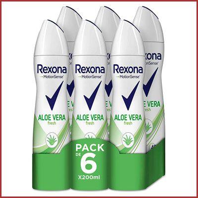 Oferta pack desodorantes Rexona Aloe Vera baratos