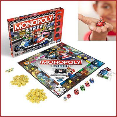 Oferta Monopoly Mario Kart barato amazon