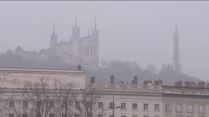 Pollution à Lyon