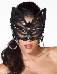 Venetian Style Cat Mask
