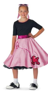 Pink Sock Hop Child Costume