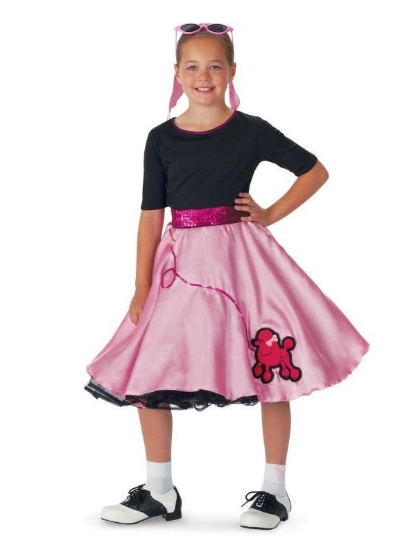 Pink Sock Hop Child Costume