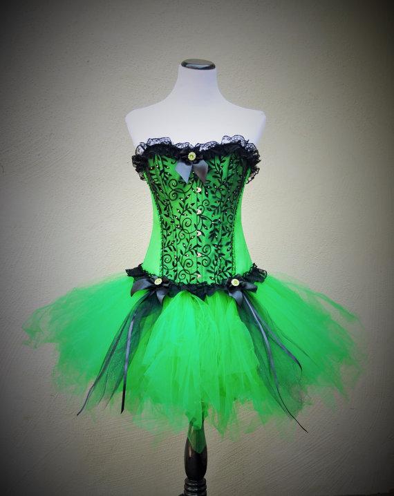 Green Corset Dress